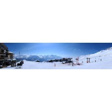 Fiescheralp Zwitserland - panoramische fotoprint