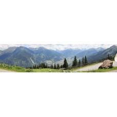 Gastein vallei Oostenrijk - panoramische fotoprint