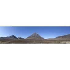 Glencoe Schotland - panoramische fotoprint