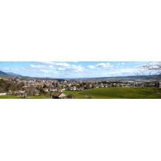 Grenchen Zwitserland - panoramische fotoprint