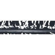Weg met sneeuw - panoramische fotoprint 2