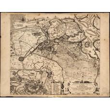 Caerte van t'Vrye Vlaenderen - Visscher - 1622