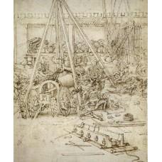 Artillerie - Leonardo Da Vinci
