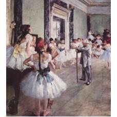 Balletles - Dégas - 1875