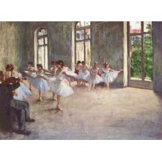 Balletrepetitie -  Edgar Degas - 1873