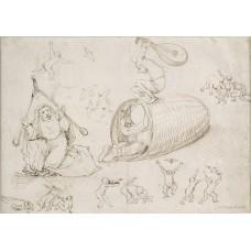 Bijenkorf en heksen - Hiëronymus Bosch