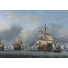 De verovering van de Royal Prince - Willem van de Velde II