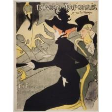 Divan Japonais - Toulouse-Lautrec - 1893