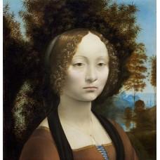 Ginevra de Benci- Leonardo Da Vinci
