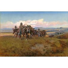 In vijandig gebied - Charles M. Russell - 1921