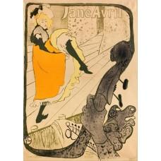Jane Avril - Toulouse-Lautrec - 1893