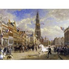 Paardenkeuring te Groningen - Otto Eerelman - 1920