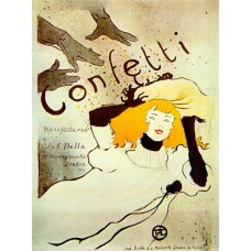 Confetti - Toulouse-Lautrec - 1894