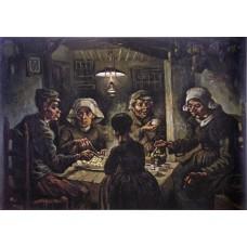De aardappeleters - Van Gogh - 1885