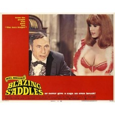 Blazing Saddles lobbykaart