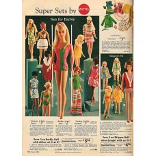 Barbie Super Sets catalogus pagina - 1964