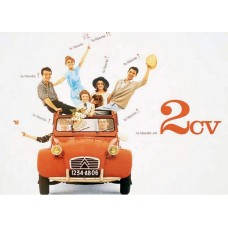 Franse 2CV poster