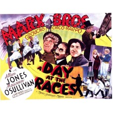 A day at the races - 1937 - filmposter