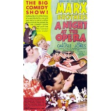 A night at the opera poster - 1935
