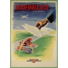Aero-Holland poster Ypenburg - model A