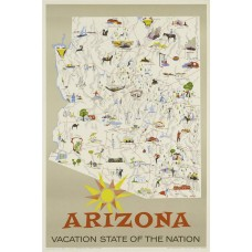 Arizona - Vacation State of the Nation poster