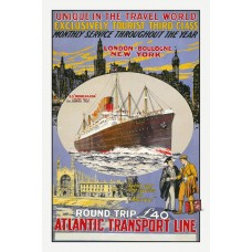 Atlantic Transport Line poster