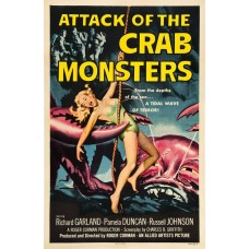 Attack of the Crab Monsters - poster - 1957
