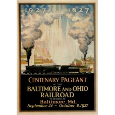 Baltimore & Ohio eeuwfeest - 1927