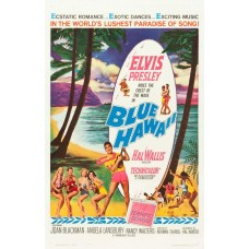 Blue Hawaii poster - 1961 - Elvis Presley