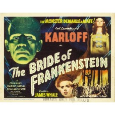 Bride of Frankenstein - filmposter 1935