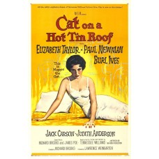 Cat on a hot tin roof - filmposter - 1958