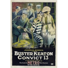 Convict 13 - Buster Keaton filmposter - 1920
