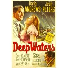 Deep waters -  poster - 1948