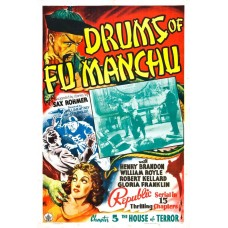 Drums of Fu Manchu - filmposter B - 1940
