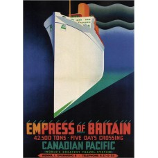 Empress of Britain - poster 1932