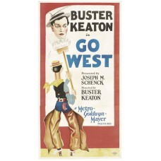Go West - poster - 1925