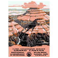 Grand Canyon National Park poster - 1928