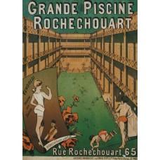 Grande Piscine Rochechouart - poster - 1886