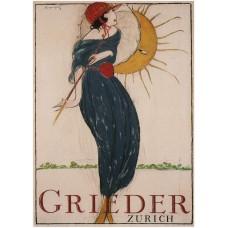 Grieder - Zürich poster - 1919