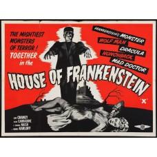 House of Frankenstein - poster - 1944