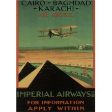 Imperial Airlines poster - 1926