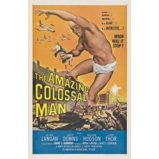 Amazing colossal man - filmposter