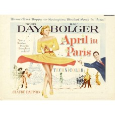 April in Paris - poster - 1952