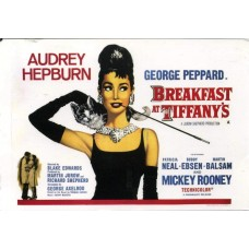 Breakfast at Tiffany's - poster - 1961