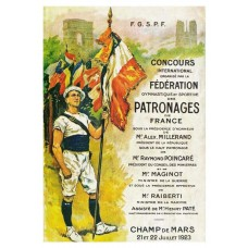 Concours International de Gymnastique 1923 poster