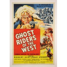 Ghost riders of the West - poster 1946