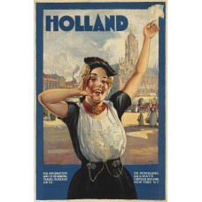 Holland poster - 1910