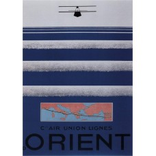 Air Orient poster - 1930