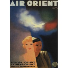Air Orient poster - 1933