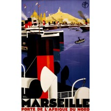 Haven Marseille - ca. 1930